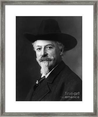 William Buffalo Bill Cody, American Framed Print