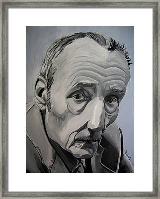 William Burroughs Framed Print