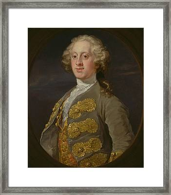 William Cavendish, Marquess Of Hartington, Later 4th Duke Of Devonshire Framed Print