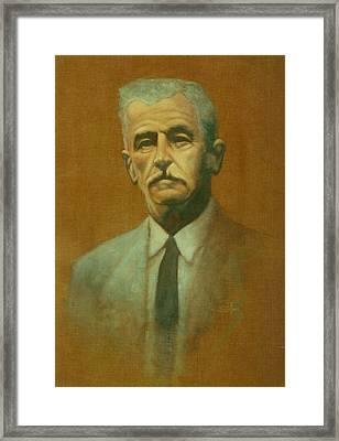 William Faulkner Framed Print by Steven Sullivan