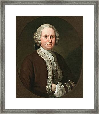 William Fitzherbert Framed Print