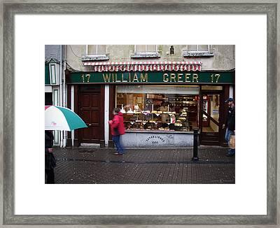 William Greer Framed Print