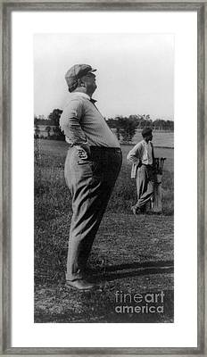 William Howard Taft, 27th U.s. President Framed Print by Science Source