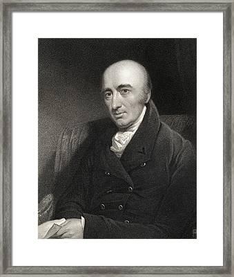 William Hyde Wollaston 1766-1828 Framed Print