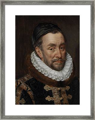 William I, Prince Of Oranje, Adriaen Thomasz. Key, C. 1579 Framed Print by Celestial Images