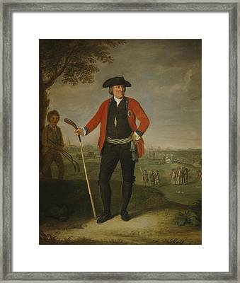 William Inglis Framed Print by David Allan