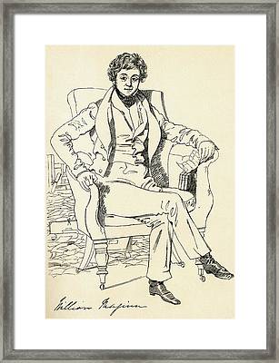 William Maginn The Doctor, 1794 - 1842 Framed Print