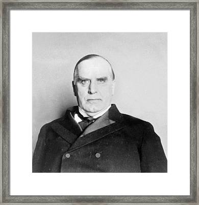 William Mckinley - President Of The United States Of America - C 1898 Framed Print