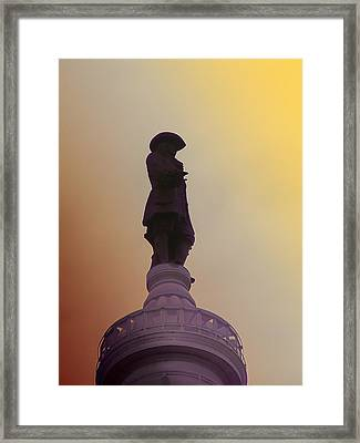William Penn Framed Print by Bill Cannon