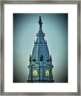 William Penn On Top Framed Print