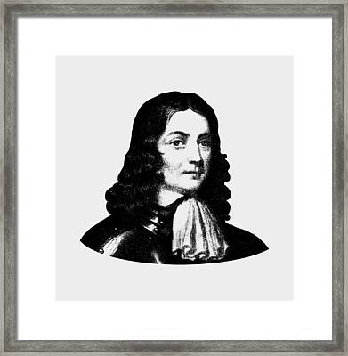 William Penn - Pennsylvania Founder Framed Print by War Is Hell Store