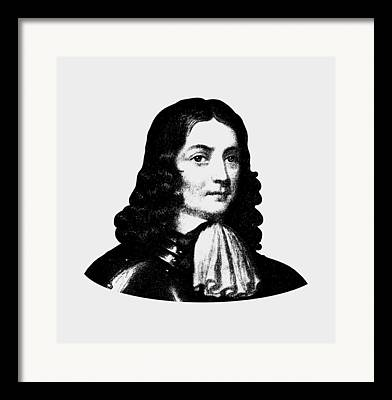 Quaker Digital Art Framed Prints