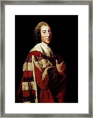William Pitt Framed Print by Diana Angstadt