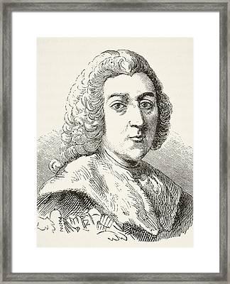 William Pitt The Elder 1st Earl Of Framed Print