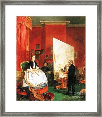 William Powell Frith Framed Print by MotionAge Designs