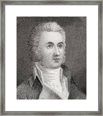 William Richardson Davie 1756 To 1820 Framed Print by Vintage Design Pics