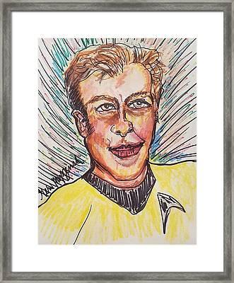 William Shatner Framed Print