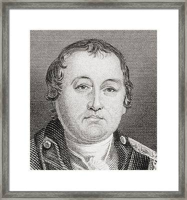 William Washington, 1752 To 1810 Framed Print by Vintage Design Pics