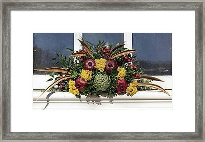 William Waters House Christmas Spray Framed Print by Teresa Mucha