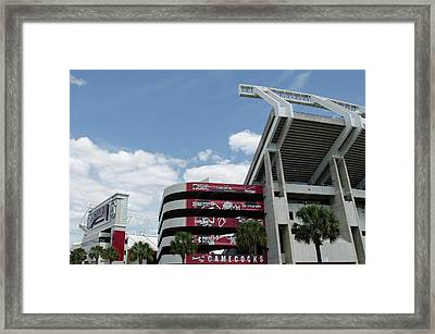 Williams Brice Stadium  II Framed Print