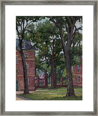 Williams College Frosh Quad Framed Print by Thor Wickstrom