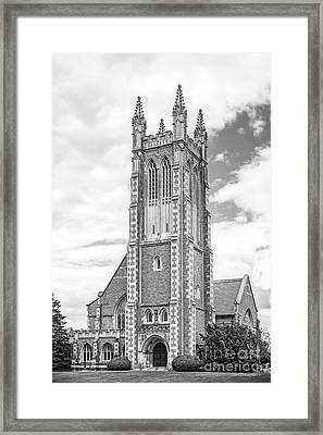 Williams College Thompson Memorial Chapel Framed Print by University Icons