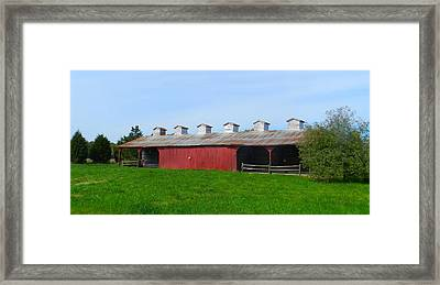 Williams Corncrib Framed Print by Julie Dant