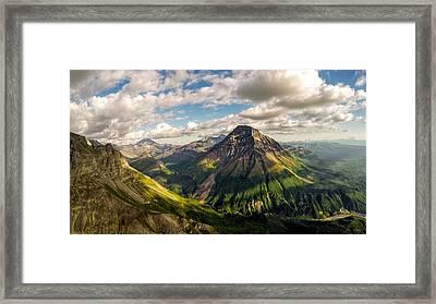 Williams Peak Alaska Framed Print