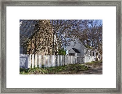 Williamsburg Golden Hour Framed Print by Teresa Mucha
