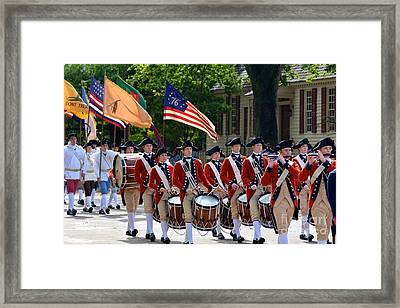 Williamsburg Framed Print