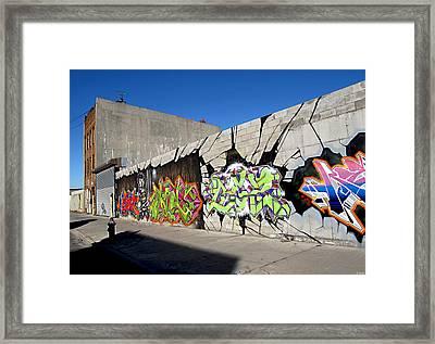Williamsburg Wall Art Framed Print