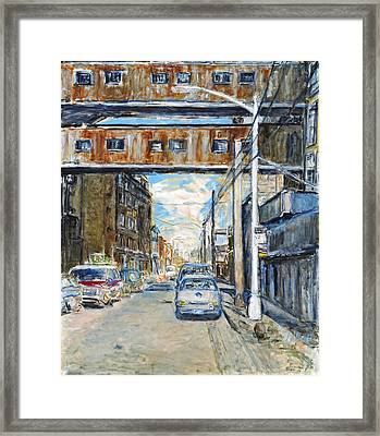 Williamsburg4 Framed Print by Joan De Bot