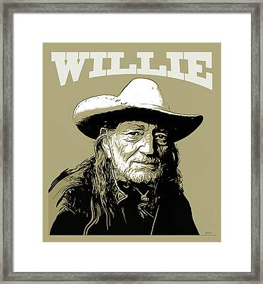 Willie 2 Framed Print by Greg Joens