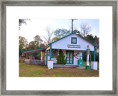 Willis' Grocery Framed Print by Jan Amiss Photography