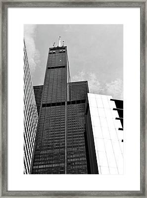 Willis Tower Wedge Framed Print