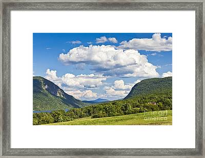 Willoughby Gap Cloudscape Framed Print