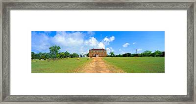 Willow City School From 1904 Framed Print by Panoramic Images