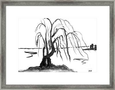 Willow Framed Print by Marsha Heiken