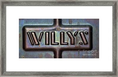 Willys Framed Print