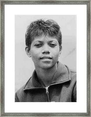 Wilma Rudolph, 1940-1994, Was The First Framed Print by Everett