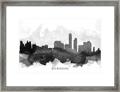 Wilmington Cityscape 11 Framed Print by Aged Pixel
