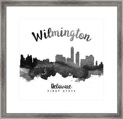 Wilmington Delaware Skyline 18 Framed Print