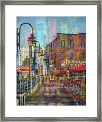 Wilmington North Carolina Riverfront Framed Print