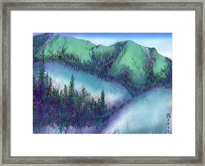 Wilmore Wilderness Area Framed Print