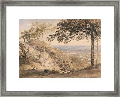Wilmot's Hill, Kent Framed Print by Samuel Palmer