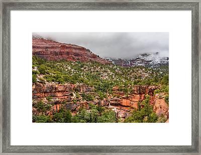 Wilson Canyon Framed Print