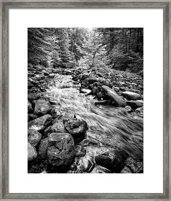 Framed Print featuring the photograph Wilson Creek 2 by Alan Raasch