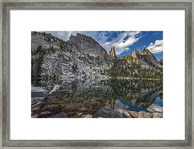 Wilson Lake Reflections Framed Print