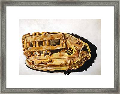 Wilson Staff Pro Framed Print by Jame Hayes