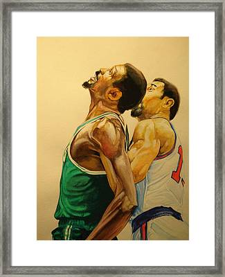 Wilt  Framed Print by Keith Hancock
